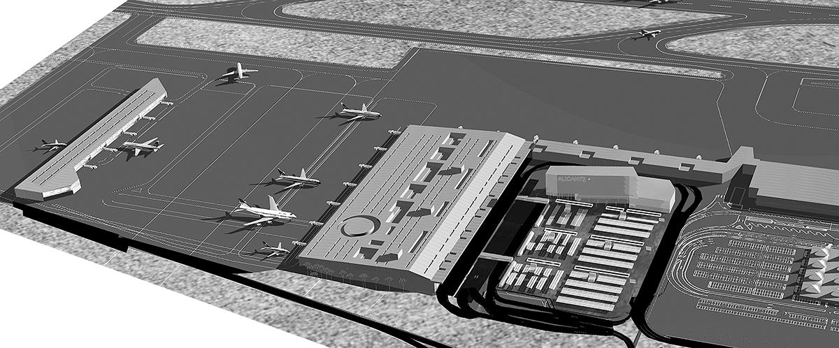 Concurso para la ampliación del aeropuerto de Alicante