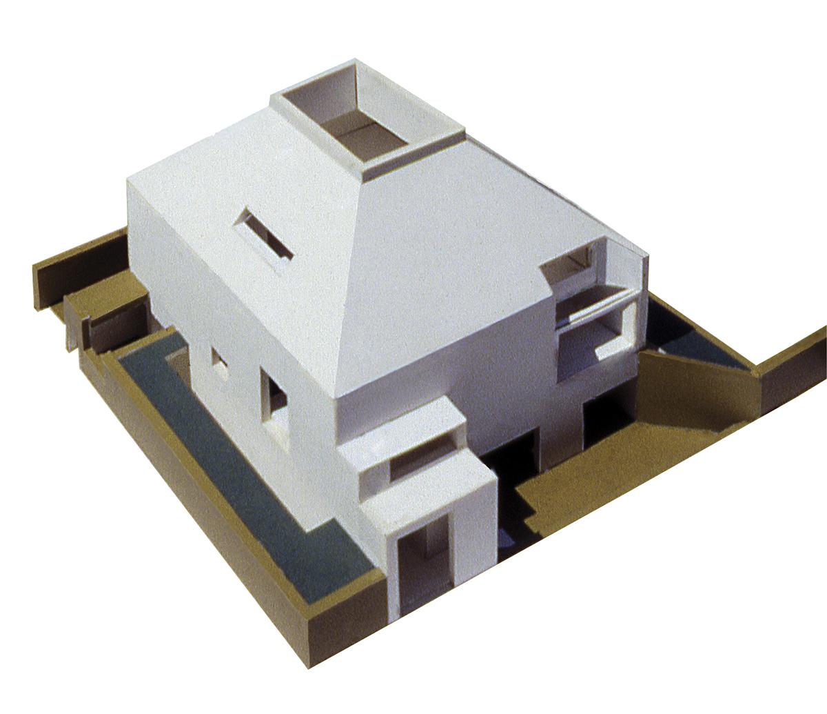 Concurso para la Sede de la Delegación del Colegio de Arquitectos