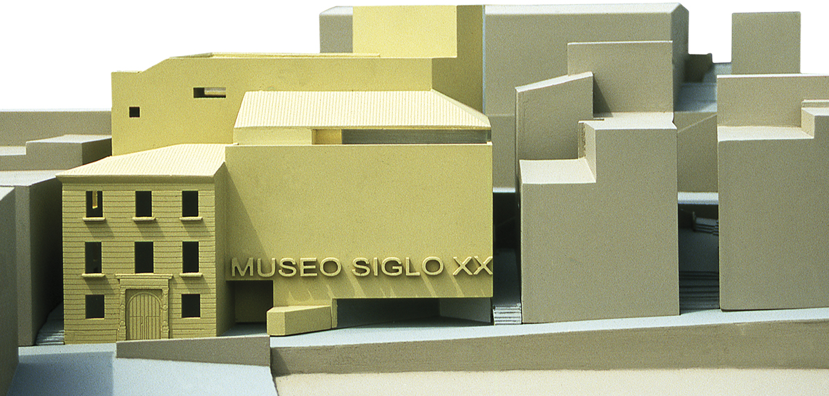 Concurso para el museo del siglo XX | Imagen de proyecto1