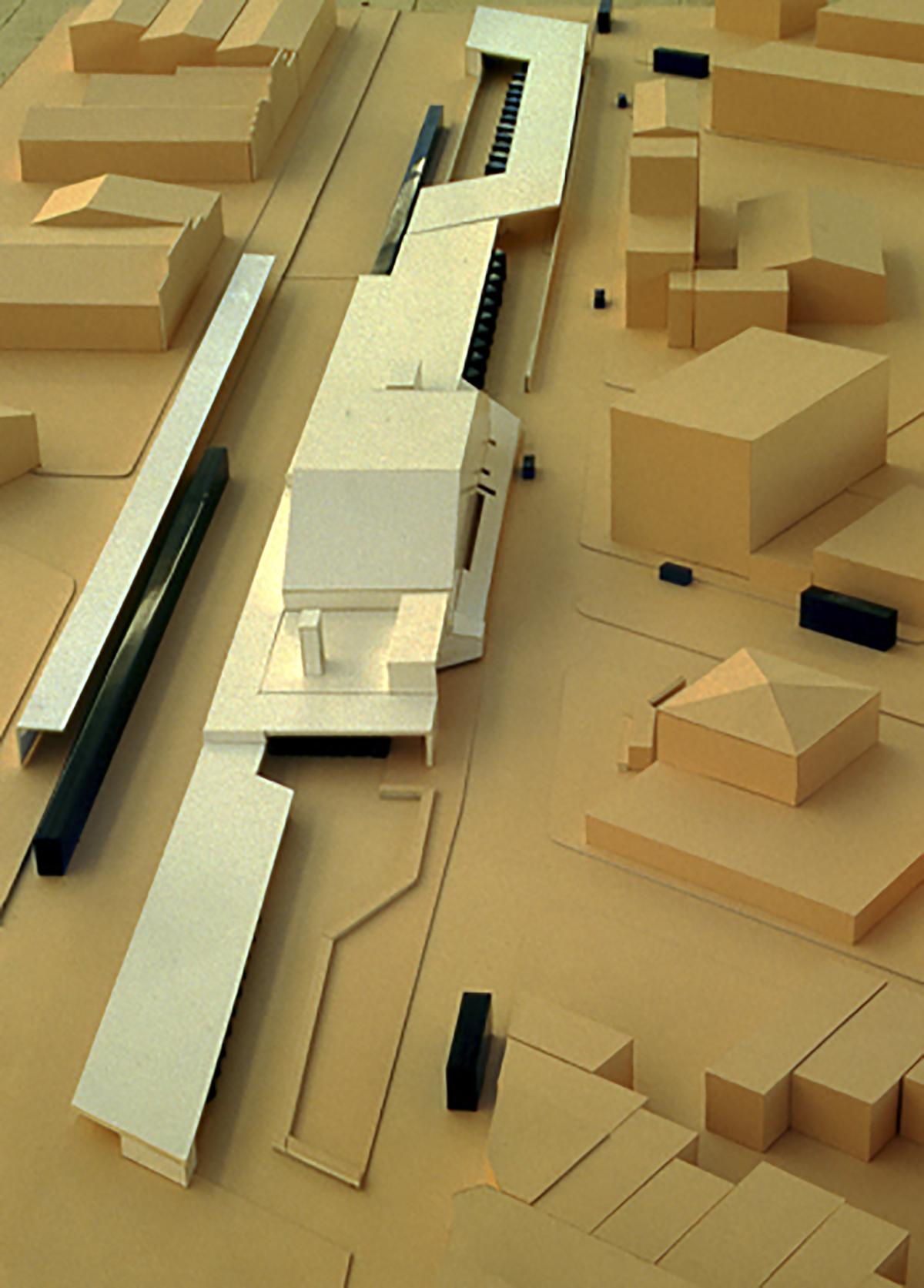 Concurso para un intercambiador de transportes   Imagen de proyecto1