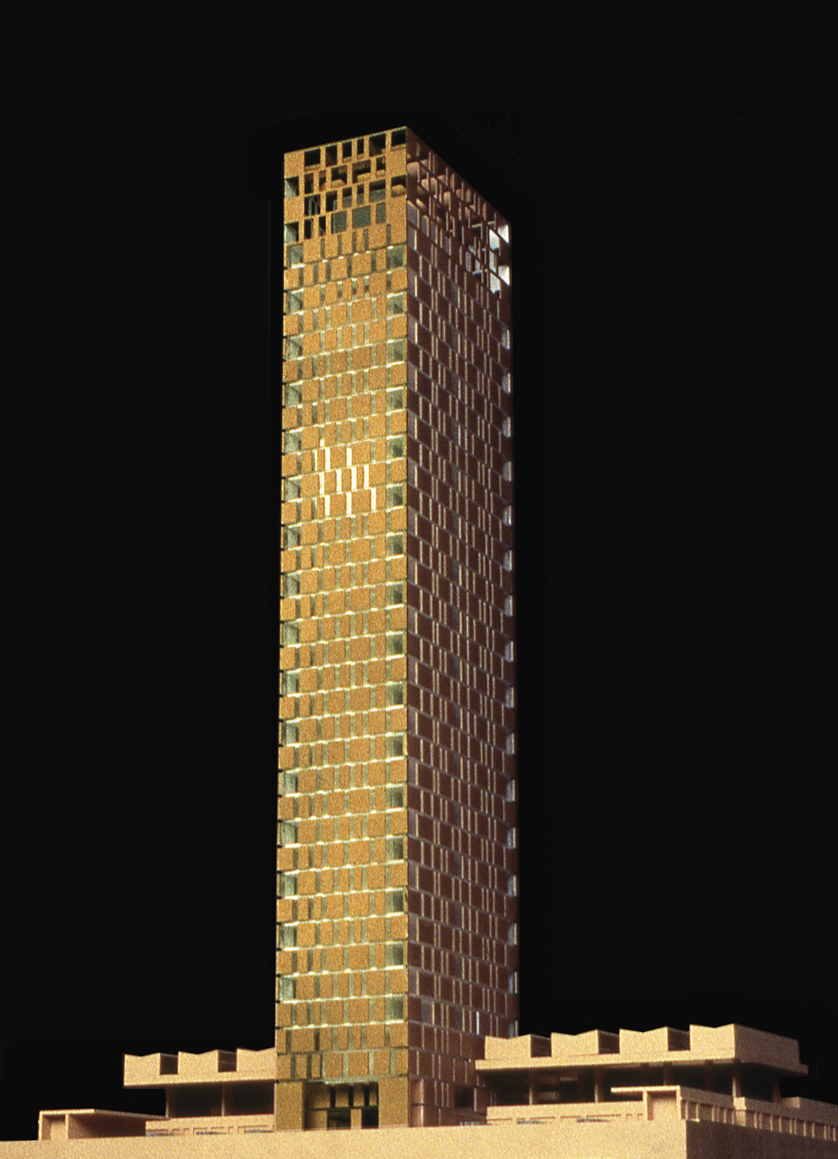 Concurso para una torre de viviendas