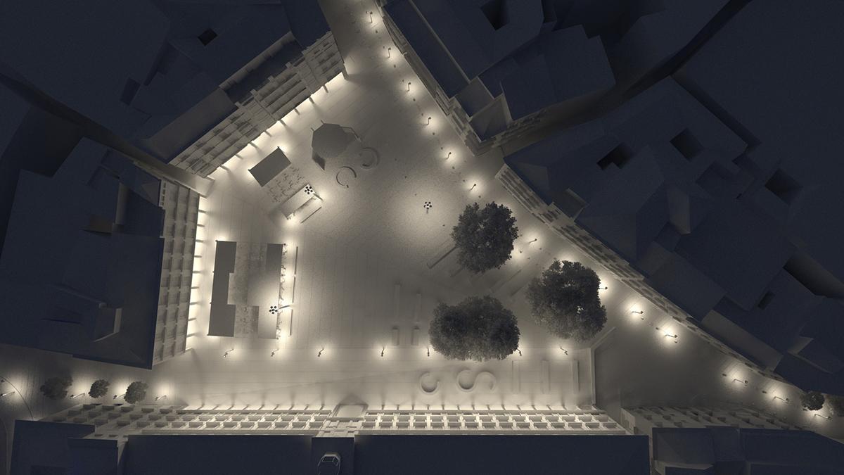 Reforma de la plaza de Zocodover   Imagen de proyecto8