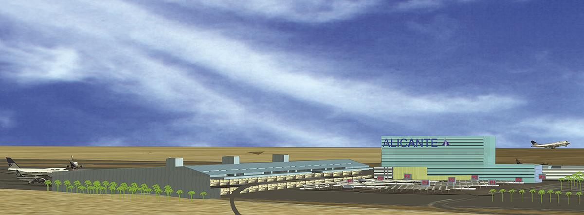 Concurso para la ampliación del aeropuerto de Alicante | Imagen de proyecto2