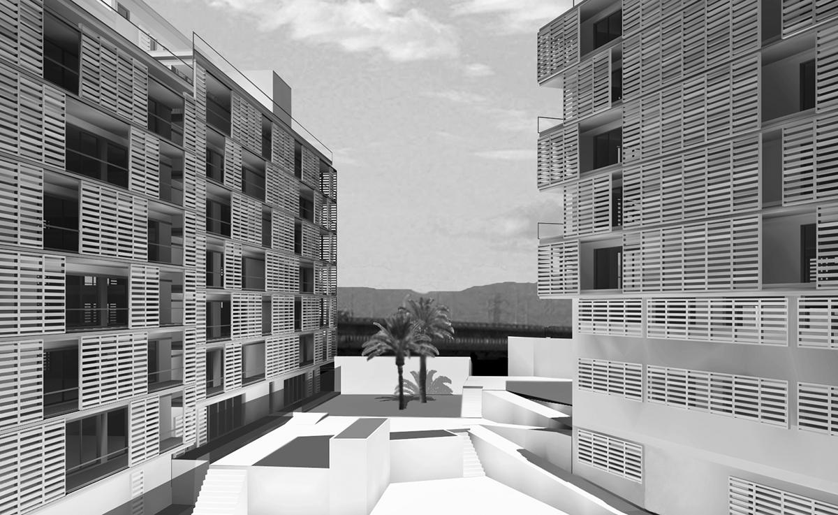 Concurso para un edificio de 75 viviendas | Imagen de proyecto2