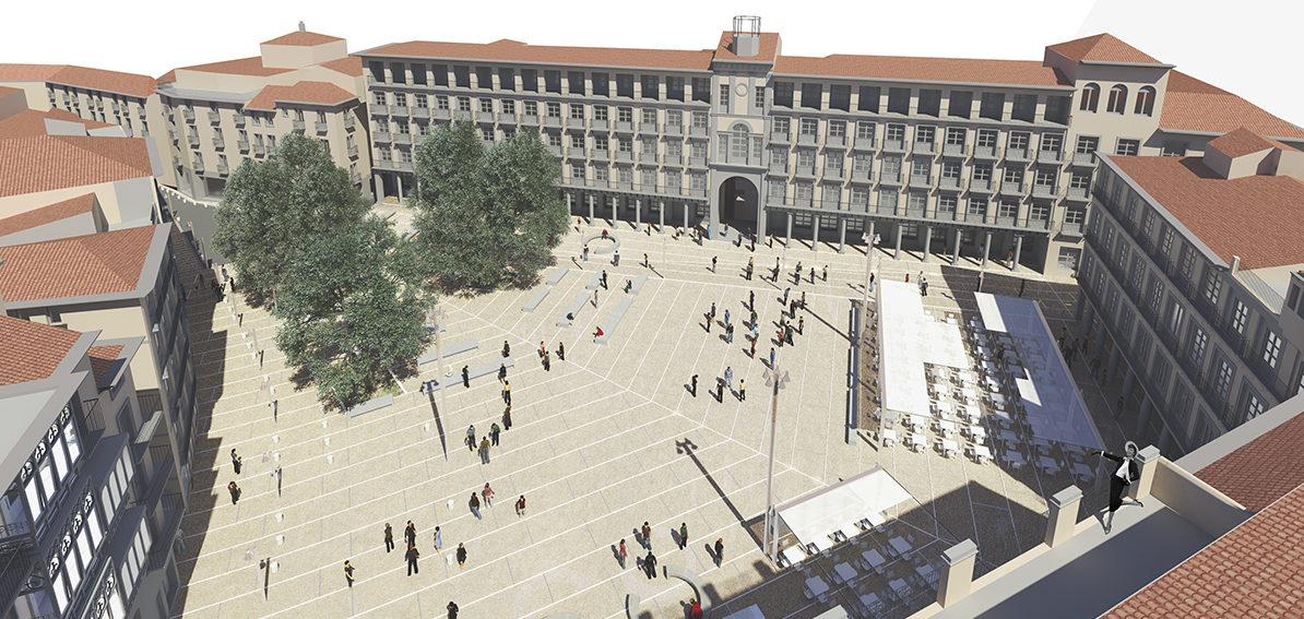 Reforma de la plaza de Zocodover   Imagen de proyecto4