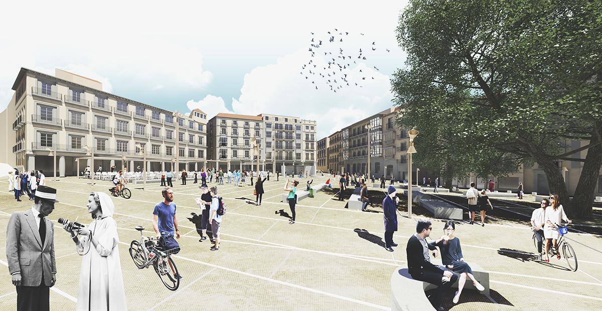 Reforma de la plaza de Zocodover   Imagen de proyecto5