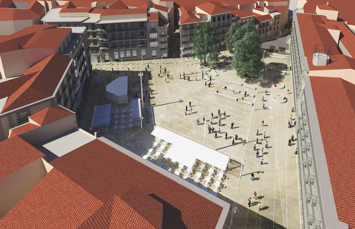 Reforma de la plaza de Zocodover   Imagen de proyecto6