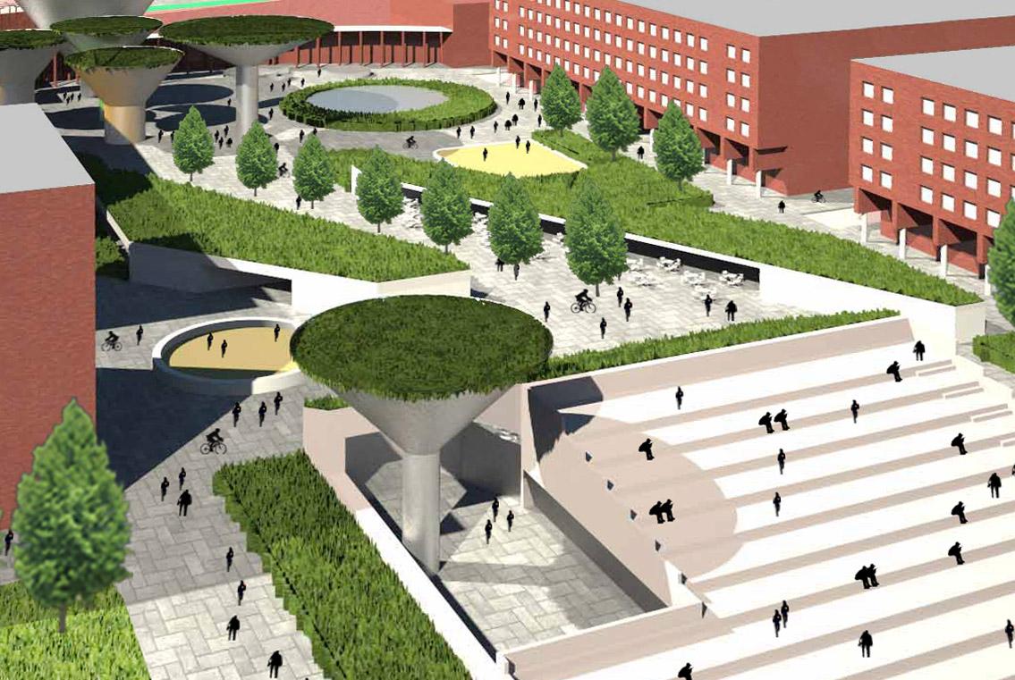 Concurso para la remodelación de la plaza central de Tres Cantos | Imagen de proyecto5