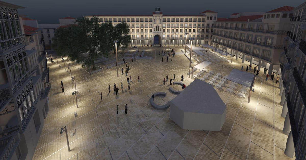 Reforma de la plaza de Zocodover   Imagen de proyecto7