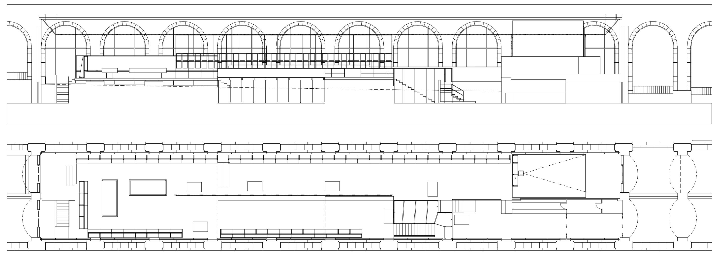 "Montaje de la exposición ""Vanguardia soviética 1918-1933. Arquitectura realizada""   Imagen de proyecto3"
