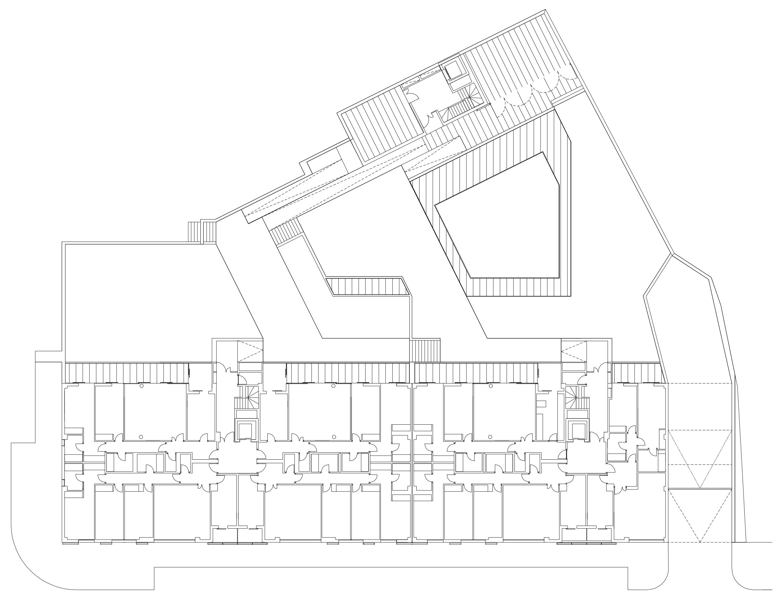 Concurso para un edificio de 75 viviendas | Imagen de proyecto3