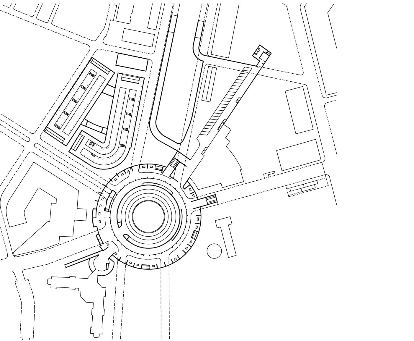 Concurso de ideas para la Plaza de Castilla   Imagen de proyecto4