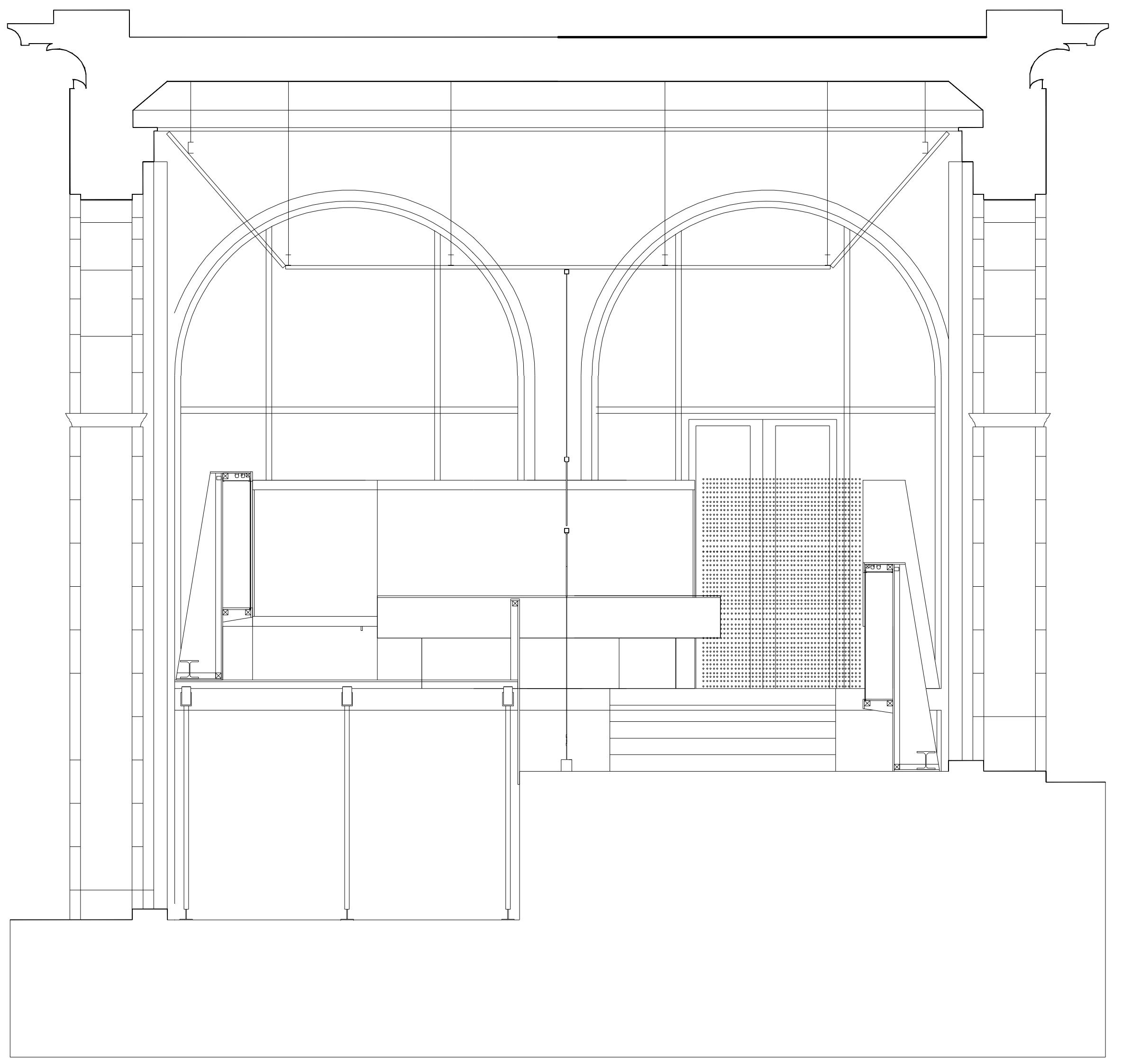 "Montaje de la exposición ""Vanguardia soviética 1918-1933. Arquitectura realizada""   Imagen de proyecto4"