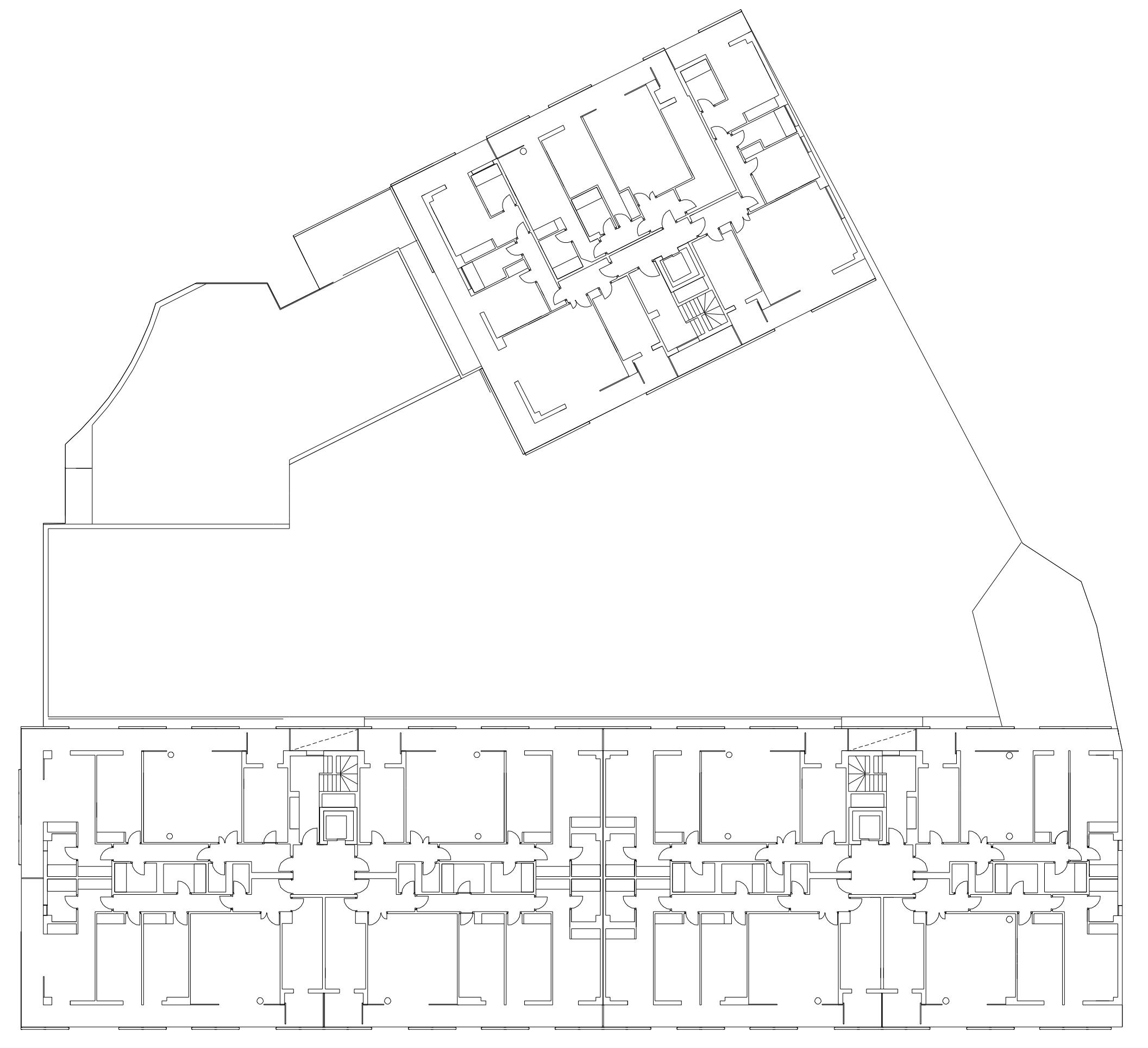 Concurso para un edificio de 75 viviendas | Imagen de proyecto4