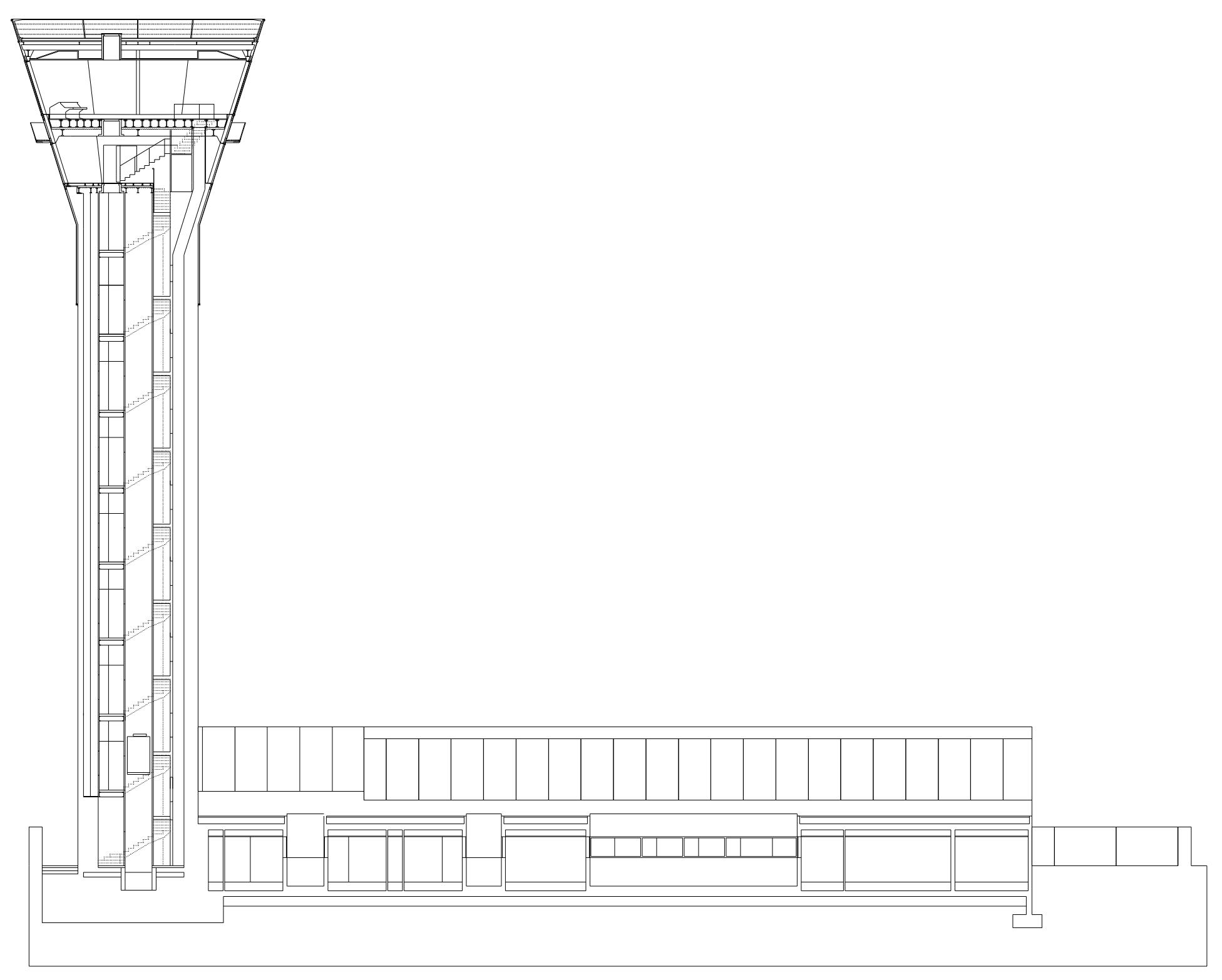 Concurso para la nueva torre y centro de control del Área Terminal de Galicia | Imagen de proyecto5