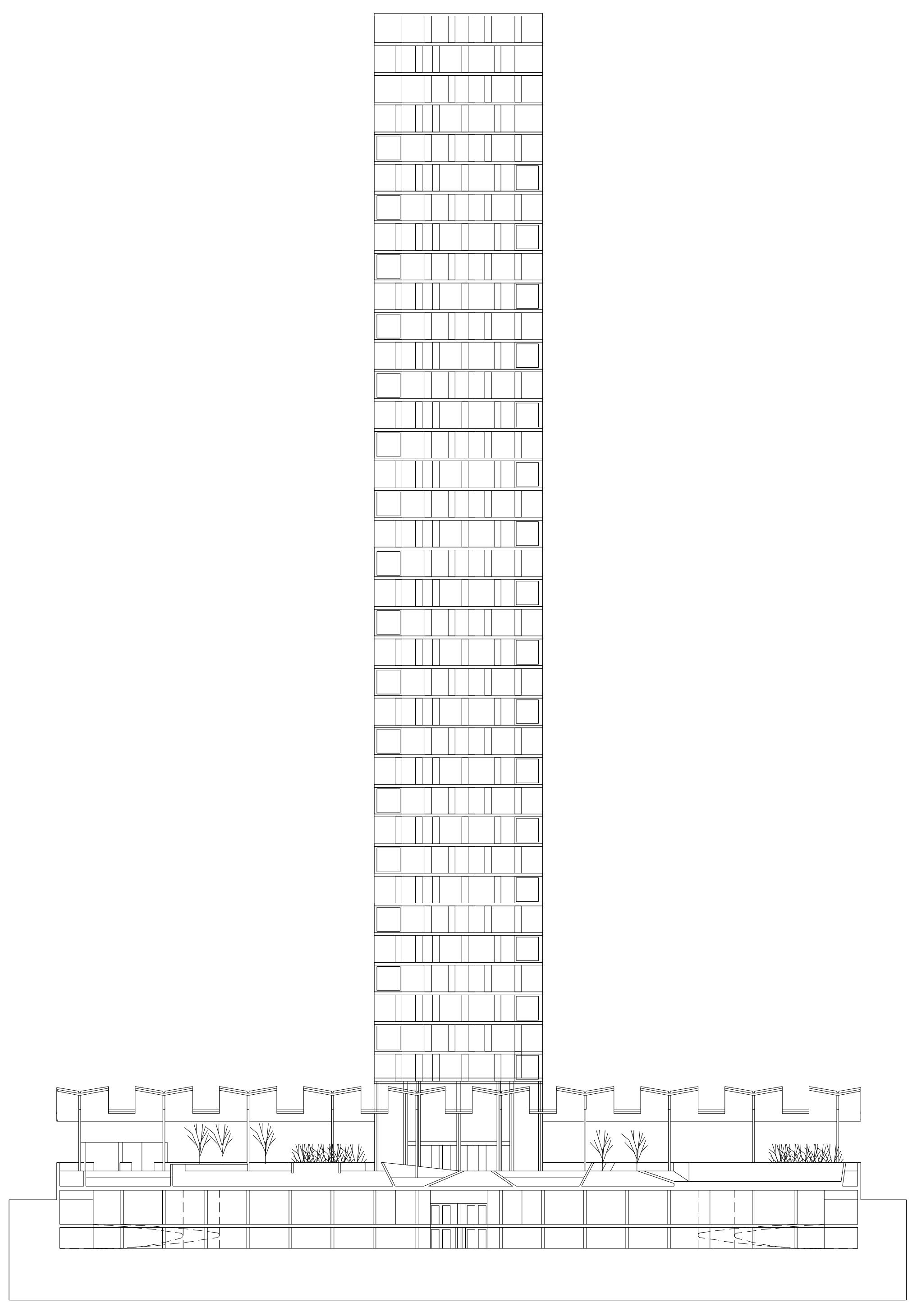 Concurso para una torre de viviendas | Imagen de proyecto5